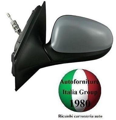 SPECCHIO SPECCHIETTO RETROVISORE SX MECCANICO C//PRIMER LANCIA YPSILON Y 11/>2011/>