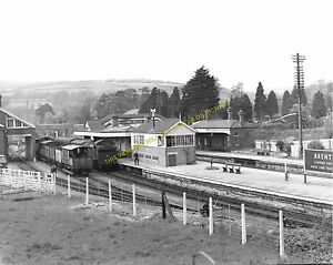 GWR. Wrangton to Totnes and Kingsbridge Lines Brent Railway Station Photo 9