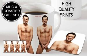 Danny-Dyer-Awesome-Ceramic-Coffee-MUG-Wooden-Coaster-Gift-Set