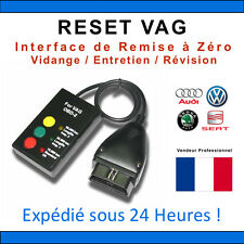RESET VAG OBD2 - Remise à Zéro Entretiens VW AUDI SEAT SKODA - COM VAG VAS
