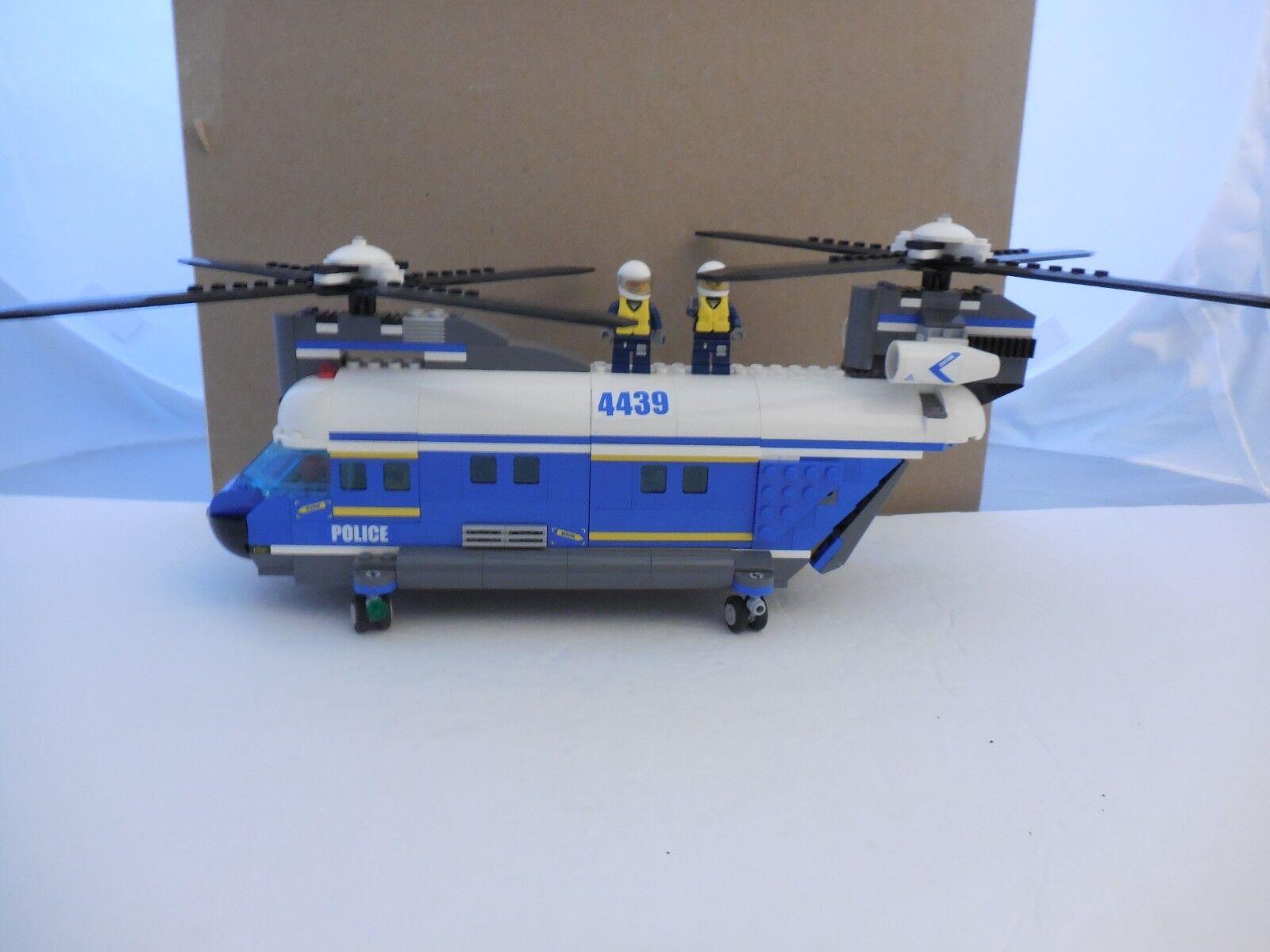 LEGO City City City Heavy-Lift Police Helicopter 4439 f2e0b2