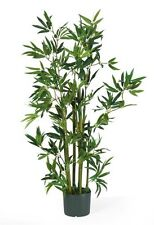 Nearly Natural 5040 Bamboo Silk Plant- 4-Feet- Green NEW