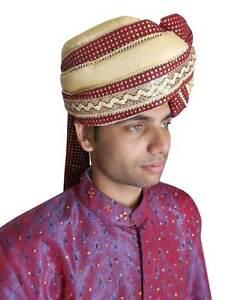c37a7add65e 99+ Silk Checked Zari Fabric Groom Pagri Rs 5800 Piece Imperial Safa ...