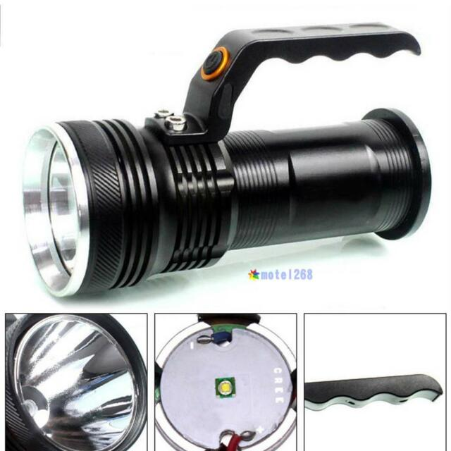 3-mode 3000LM Handheld CREE XM-L Rechargeable LED 18650 Flashlight Torch Lamp MT