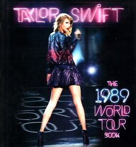 TAYLOR-SWIFT-2015-THE-1989-WORLD-TOUR-CONCERT-PROGRAM-BOOK-BOOKLET-NMT-2-MINT