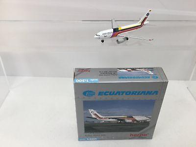 Herpa Wings 1 500 Airbus A310-300 Ecuatoriana 501118