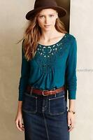 Anthropologie Meadow Rue Bobbinlace Tee Size Xs