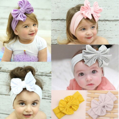 1x Big Bow Headband For Baby and Kids Christmas Hairbands for Baby  J/&C