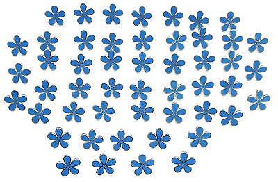 MASONIC SET OF 5 FLOWER FORGET ME NOT 11MM ENAMEL LAPEL PIN BADGES