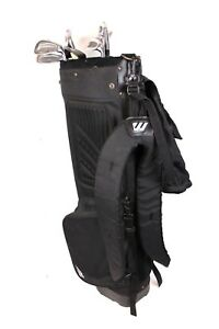 44-tlg-Golf-Set-Schlaeger-Mizuno-Golftasche-Pro-Ace-Tasche-Golfbaelle-Tees