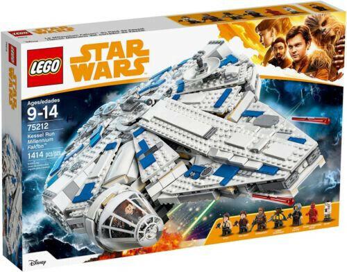 75212 LEGO Estrella WARS KESSEL RUN MILLENIUM FALCON 1414 PEZZI 8 - 14 ANNI