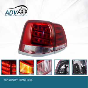 For-Toyota-Landcruiser-200-Series-2008-2011-LED-Tail-Light-Red-Clear-Rear-Lamp