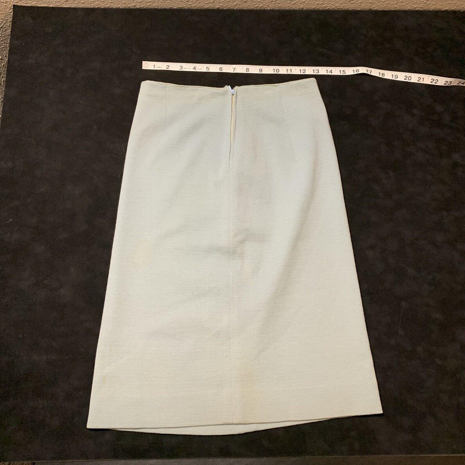 Vintage Coltalia Italy Wool Open Blazer Skirt Sui… - image 5