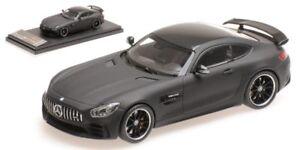 Mercedes Amg Gt R 2017 Cuir Noir Mat Modèle 1:43 Presque Réel