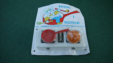 DDR Kinderspielzeug Herd Plaste Spielzeug Kochen Geschirr rot orange Mädchen OVP