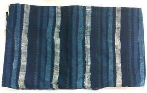 5-Yard-Indian-Cotton-Indigo-Print-Loose-Running-Dress-Making-Fabric-Clothing