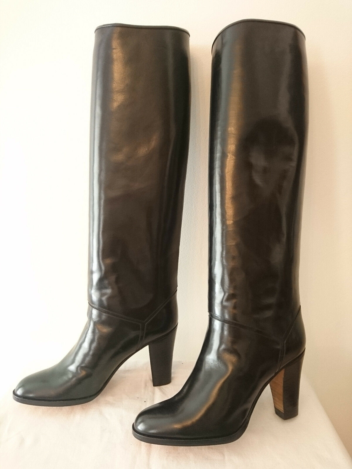 Boots Vintage d' Exception  Black  I.BOSSI  (A) T.37