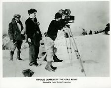 CHARLES CHAPLIN LA RUEE VERS L'OR THE GOLD RUSH 1925 VINTAGE PHOTO #3 MOVIE SET
