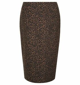 HOBBS Blair Leopard Print Black Multi Skirt. Various Sizes. RRP £110. BNWT.