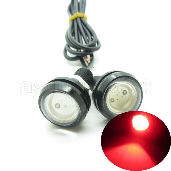 10 x Red DC12V 9W Eagle Eye LED Daytime Running DRL Backup Light Car Auto Lamp