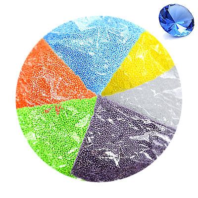 2-3 Mm Palline Polistirolo Colorate 0.5l Filler Polistirene Espanso Sfere Perline Decor- Saldi Estivi Speciali