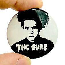 Pin Button Badge Ø38mm Logo The Cure Robert Smith Rock UK