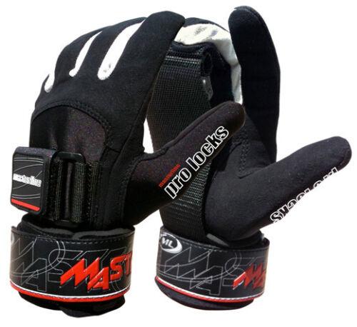Masterline Pro Lock Water Ski Gloves with Clincher Grip
