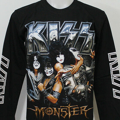 KISS Monster Gene Paul Long Sleeve T-Shirt 100% Cotton New Size S M L XL 2XL 3XL