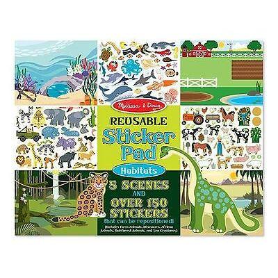 Melissa & Doug Sticker Pads-Habitats