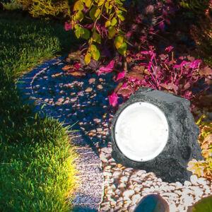 Éclairage Lumière Solaire Led Pierre Sur De La Lampe Extérieur Jardin Détails 29IDHE