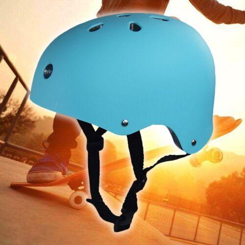 Bicycle Cycle Bike Scooter BMX Skateboard Skate Stunt Bomber Black Helmet US