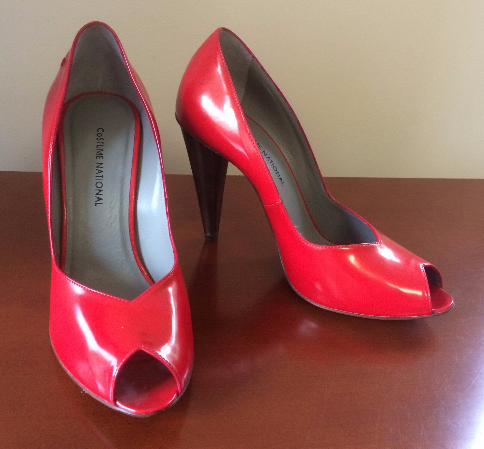 NEW CoSTUME NATIONAL NATIONAL NATIONAL Coral High Heels - UK4, EU37 78457f