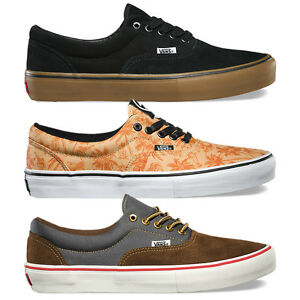 VANS Scarpe UOMO Shoes ERA PRO Classic SKATE Originali NUOVE New MENS Sneakers