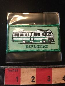DIPLOMAT ~ RV Recreational Vehicle Camper Patch Motorhome Travelers C75H