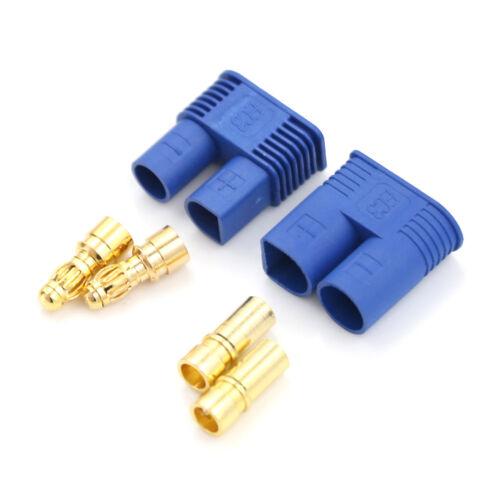 1Set EC3 Banana Plug Male Female Bullet Connector RC ESC Battery Motor XC