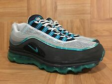 RARE�� Nike Air Max 24-7 Glass Blue Medium Classic Gray Sz 11 397252-010 Wolf LE