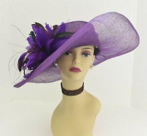 f1b3c261a8416 Image is loading M58-Purple-Kentucky-Derby-Church-Wedding-Royal-Ascot-