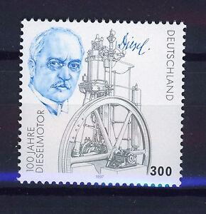 ALEMANIA-RFA-WEST-GERMANY-1997-MNH-SC-1977-Rudolf-Diesel-engineer