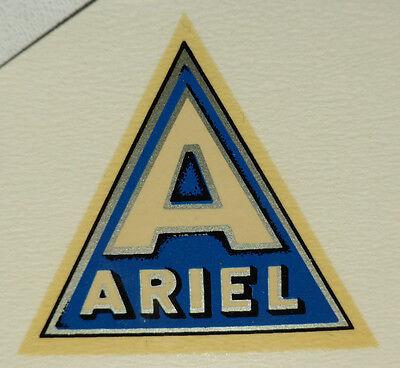 FäHig Ariel Schriftzug Wasserabziehbild Abziehbild 40 X 35 Mm 10320a blau/silber