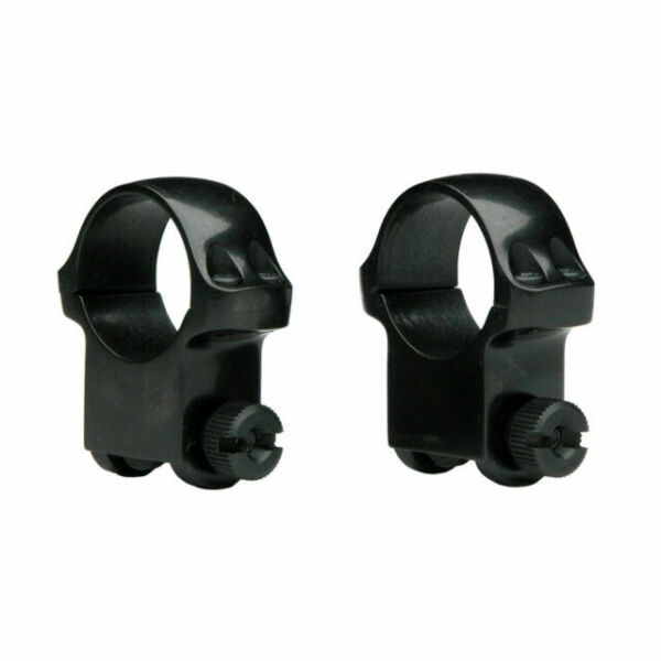 Ruger M77 Scope Ring Set 1 Inch High Matte Riflescope Rings 90409