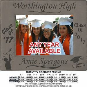 Personalized Graduation Frame Graduate Class Of 2017 Photo Picture