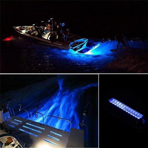 12V Marine Boat Light Blue Boat Transom Light  LED 316 stainless steel 1Pcs TH