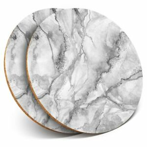 2-x-Coasters-bw-Grey-White-Marble-Effect-Pattern-43767