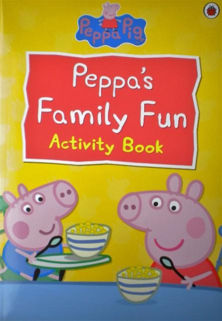 Peppa pigs family fun activity book