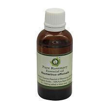 R V Essential Pure Rosemary Essential Oil 1.01oz Rosmarinus Officinalis Natural