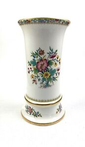 Coalport-Ming-Rose-Bone-China-Flower-Vase-22-5cm-Height
