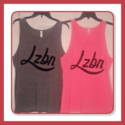 GAY PRIDE Lesbian LZBN  LGBTQ Distressed Tank Top Shirt HOT Sz/'s  M /& L