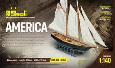 MM04 America ( modellino in legno da costruire )