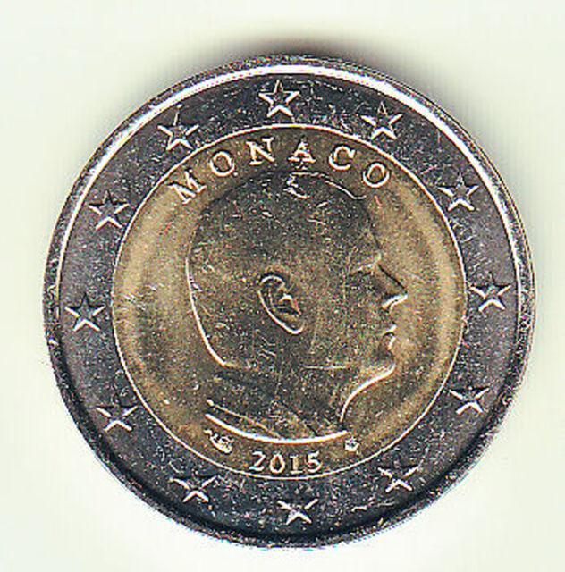 2 Euro Kursmünze Monaco 2015