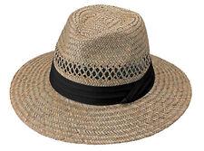 7756ff0117dd6 item 3 MG Men s Safari Shape Rush Straw Hat with Black Band One Size  8091  -MG Men s Safari Shape Rush Straw Hat with Black Band One Size  8091